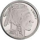 2013 American Buffalo 1/2 Ounce  .999 Fine Silver Bullion by SilverTowne New  on eBay for $16.99