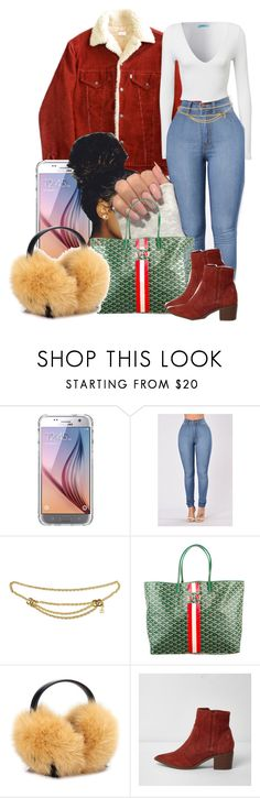 """""""1-6-17"""" by janay1206 ❤ liked on Polyvore featuring Griffin, Chanel, Goyard and Anya Hindmarch"""