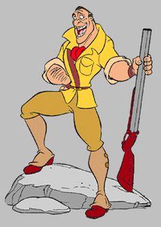 Images of Clayton from Disney's Tarzan. Disney Villains, Disney Movies, Clayton Tarzan, Bart Simpson, Clip Art, Princess, Fictional Characters, Disney Films, Fantasy Characters