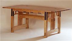 FrankLloydWright|handmade desk|Taliesin desk|custom desks
