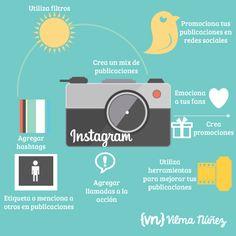 #Instagram puede ser mucho más que unos filtros... #rrss #xtrared #infografia ¡Sácale partido!