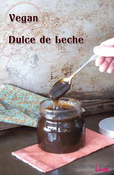 Vegan Dulce de Leche Caramel Sauce - Instant Pot.  Put in Mason jar on trivet, fill pot halfway with water, 50-60 minutes high pressure, NPR.  via @audreysnowe