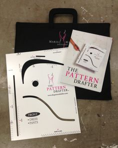 Free designer bag valued at $77. AUD when you purchase The Pattern Drafter. Plus free delivery worldwide. www.thepatterndrafter.com