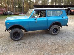 Photo: Uploaded from the Photobucket iPhone App. This Photo was uploaded by International Scout, International Harvester, Scout 800, Ih