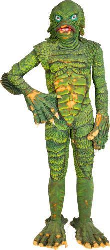"""Life-Sized """"Gill Man"""" Prototype Figurine Related to """"Revenge of the Creature."""""""