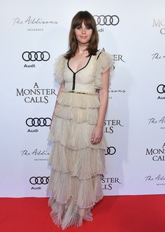 Actresses Felicity Jones attends the PostScreening Event For 'A Monster Calls' CoHosted By Audi During The 2016 Toronto International Film Festival...