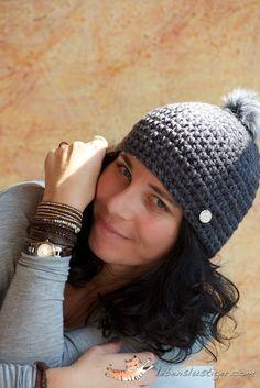 Cute Crochet Beanie: free #crochet #beanie #pattern