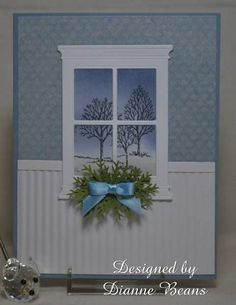 My First Window by sarahebo - Cards and Paper Crafts at Splitcoaststampers