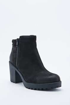 Vagabond Grace Padded Ankle Boots in Black