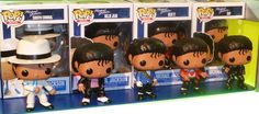 BUT WHICH ONE?!!! Probably Bad or Smooth Criminal!-Funko Pop Rocks toy figures: Legends of Rock music.  Michael Jackson