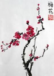Resultado de imagen para cuadros orientales bordados de peonias