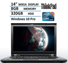 Introducing 2016 Lenovo Thinkpad T430 Premium Built Business 14 Laptop Computer PC Intel Dual Core i5 33 GHz Processor 8GB Memory 320GB HDD WiFi Webcam DVD Windows 10 Pro 64 BitCertified Refurbished. Great product and follow us for more updates!