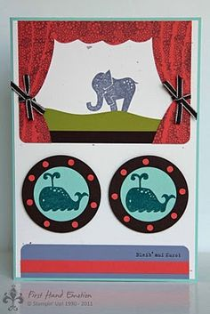 Cruising in Africa with Animal Stories from Stampin' Up!