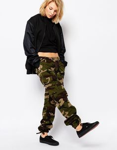 Carhartt WIP Aviation Cargo Trousers In Camo Print at asos.com fbb91126e267