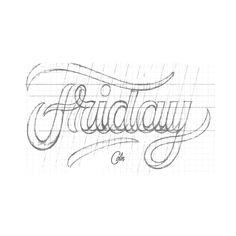 Tattoo Lettering Styles, Lettering Guide, Hand Lettering Art, Doodle Lettering, Creative Lettering, Types Of Lettering, Script Lettering, Graffiti Lettering, Lettering Tutorial