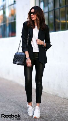 New Street Style Looks - Fashion Design Hipster Outfits, Mode Outfits, Casual Outfits, Office Outfits, Office Attire, Casual Office, Office Chic, Smart Casual, Fall Outfits