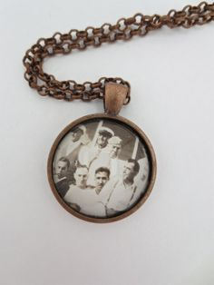 OOAK  Vintage Photography Necklace  Hanging by PeachStreetBridge, $14.00