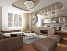 Elegant Living Room Ideas Ceiling Modern False Ceiling For Living Room Interior With Flat Screen Tv
