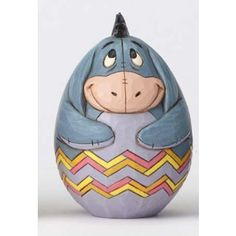 Heartwood Creek by Jim Shore Easter Eggs: Eeyore Disney Crafts For Kids, Disney Fun, Book Character Pumpkins, Disney Easter Eggs, Recycled Art Projects, Rock Painting Patterns, Easter Egg Designs, Painted Rocks Kids, Easter Egg Crafts