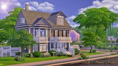 The Chocolate House at Ruby's Home Design via Sims 4 Updates