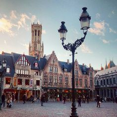 A charming sight in Bruges. Photo courtesy of aphototraveler on Instagram.