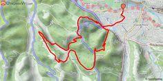 [Pyrénées-Atlantiques] 1ère Rando nocturne Pau VTT - Lous Mourpious - 2017 - 16 km Parcours réalisé le 18/03/2017 à l'occasion de la première Randonnée Nocturne du Pau VTT Lous Mourpious. Un clin d'oeil et un merci aux organisateurs !  Le départ se situe à Jurançon et le circuit monte sur les coteaux de Chapelle-de-Rousse.  La boucle se compose principalement de 3 parties montantes et de 3 descentes.  - La première montée d'environ 2 km qui démarre à Jurançon est très agréable, en pente…
