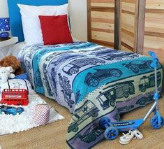 Race Track Ready Boys Blanket - Shop for it Online Now! Kids Blankets, Shades Of Blue, Comforters, Track, Racing, Bed, Shop, Furniture, Home Decor