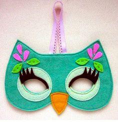 máscara de búho