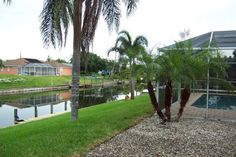 Beautiful relaxing and great vacation home in Cape Coral from VRBO.com! We had such a great time here and loved swimming in the pool every day.