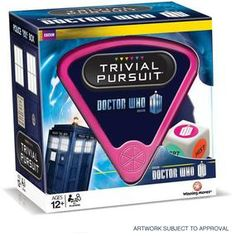Doctor Who: Trivial Pursuit -- this is something I NEED!