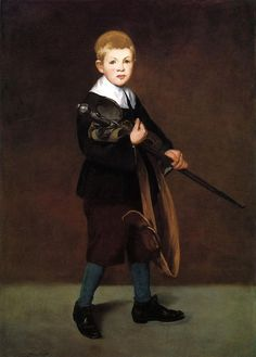 Boy with a Sword by Edouard Manet #art