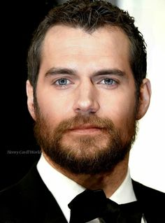 Henry Cavill photo edit via HenryCavillWorld tumblr