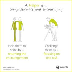A Helper is compassionate and encouraging so help them shine but don't forget to challenge them. Insights Discovery, Group Dynamics, Team Activities, Green Earth, Pranayama, Leadership Development, Teaching Science, Life Coaching, Mbti
