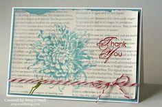 Thankful Bloom; stampin up