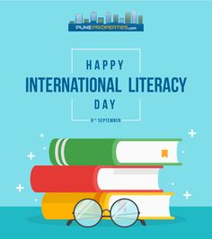 """WORDS Change WORLDS"" Pune Properties Wishing you all Happy International Literacy Day!! #PuneProperties #InternationalLiteracyDay"