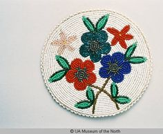 Beaded Mat :: University of Alaska Museum of the North