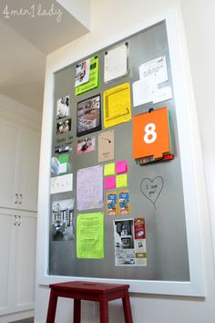 Large DIY magnet board.