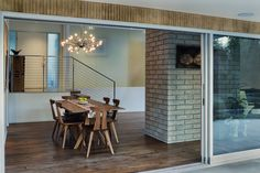 Best Dining Photos - Photo 49 of 280 - Dwell Best Dining, Pendant Lighting, Hardwood Floors, Dining Room, Modern, Photos, House, Inspiration, Furniture