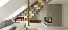 awesome -  found on Baker Design Group's Blog: Modern Loft Interiors in Prague