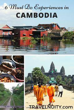 6 Experiencias que Hay que hacer en Camboya