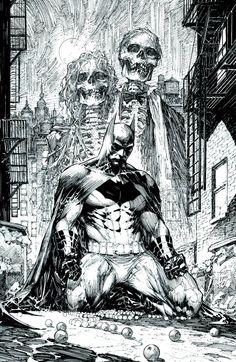 Batman: Black & White #1 (of 6) Virgin Cover #DC #Batman #Black (Cover Artist: Michael Cho) On Sale: 9/4/2013