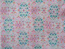 80cm x 1.37m Liberty Print Tana Lawn 'Delfie' Cotton Dress Fabric Patchwork