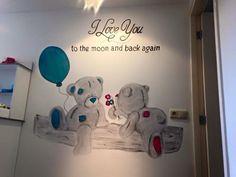 Me to you beer muurschildering Nederland.