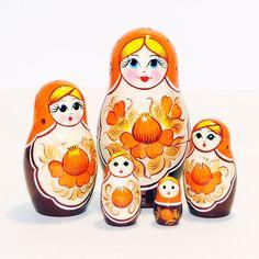 Russian Doll Handmade Real Wood Matryoshka por RussianMatroshka