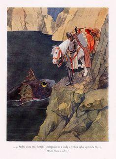 Artuš Scheiner, illustration for Fairy Tales by Božena Němcová