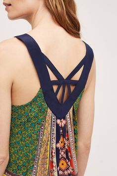 Spell Tank by Maeve | Anthropologie  :: Silk, Machine wash, Style No. 4110580816565