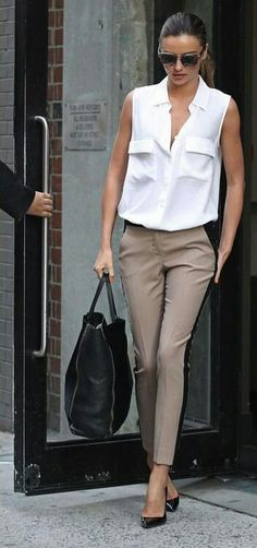 Cute Work Outfit Ideas for Girls. Work outfit doesn't mean boring clothes and leaving your personal style behind.