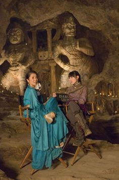 The Mummy: Tomb of the Dragon Emperor - Michelle Yeoh as Zi Yuan and Isabella Leong as Lin