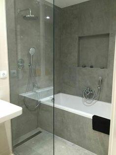 41 Easy Shower Design Ideas For Small Bathroom layout 41 Easy Shower Design Ideas For Small Bathroom Bathroom With Shower And Bath, Shower Tub, Bathroom Showers, Wet Room With Bath, Walk In Shower Bath, Bathtub Shower Combo, Shower Rooms, Shower Enclosure, Glass Shower