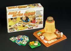 Build a Better Burger board game